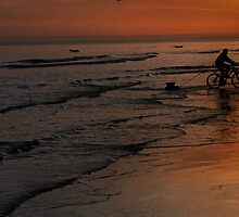 Sunset Bike Ride  by SussexScenictys