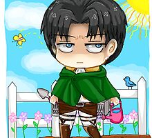 Gardening with Levi-heichou by mochixtea