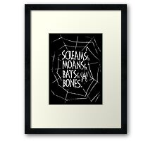 Spider Baby Framed Print