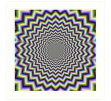 Crinkle Cut Psychedelia Art Print
