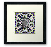 Crinkle Cut Psychedelia Framed Print
