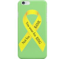 Military Wives iPhone Case/Skin