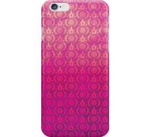 Cute Grunge Crown Pattern (B) iPhone Case/Skin