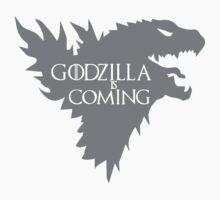 Godzilla is coming by Hazzardo