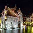 Palais de l'Isle in Annecy, France by mcdonojj