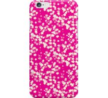 Confetti Star Pattern (PINK x3) iPhone Case/Skin