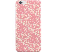 Confetti Star Pattern (PEACH x3) iPhone Case/Skin