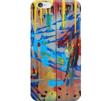 Jersey Shore - Colorful Abstract Art iPhone Case/Skin