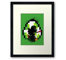 The Green Fury Framed Print