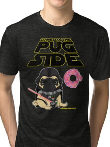 Come to the Pug Side Tri-blend T-Shirt