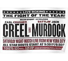 Creel vs Murdock Poster