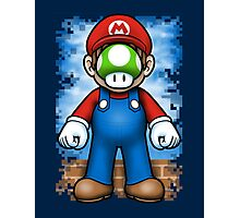 Plumber of Man Photographic Print