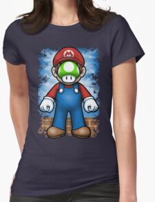 Plumber of Man Womens Fitted T-Shirt