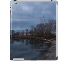 Early, Still and Transparent - on the Shores of Lake Ontario in Toronto iPad Case/Skin