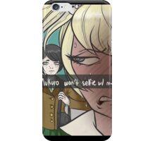 Snap Chat - Junko's Struggle - Dangan Ronpa iPhone Case/Skin