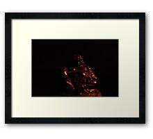 The Golden Buddha  Framed Print