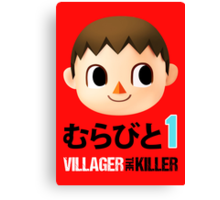 Villager the Killer (Murabito 1) Canvas Print
