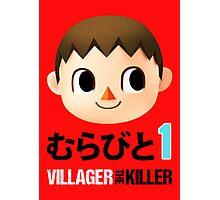 Villager the Killer (Murabito 1) Photographic Print
