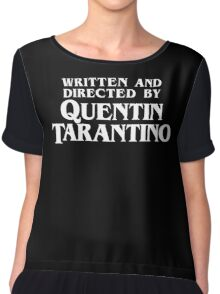 Written and Directed by Quentin Tarantino Chiffon Top