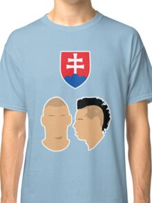Slovakia - Skrtel & Hamsik - Euro 2016 Classic T-Shirt