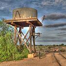 Railway To Nowhere, Silverton, NSW, Australia by Adrian Paul