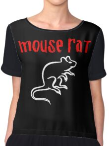 Mouse Rat Chiffon Top