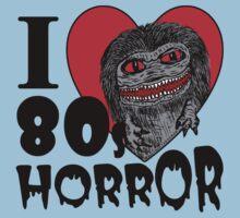 I Love 80s Horror Kids Clothes
