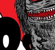 I Love 80s Horror Sticker
