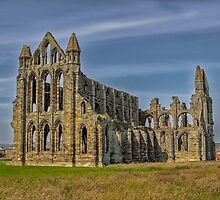 Whitby abbey by alan tunnicliffe