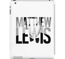 Matthew Lewis iPad Case/Skin