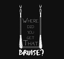 Where Did You Get That Bruise? Trapeze Edition - White Women's Relaxed Fit T-Shirt