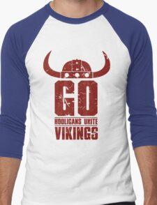 Go Vikings Men's Baseball ¾ T-Shirt