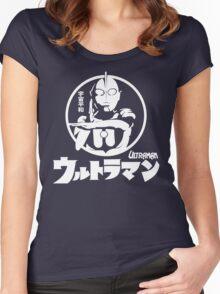 CLASSIC ULTRAMAN JAPAN SUPERHERO TOKUSATSU  Women's Fitted Scoop T-Shirt