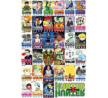 Hunter x Hunter manga covers Photographic Print