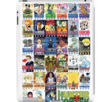 Hunter x Hunter manga covers iPad Case/Skin