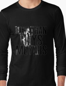 Jonathan Rhys Meyers Long Sleeve T-Shirt