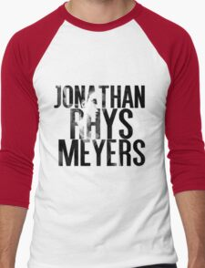 Jonathan Rhys Meyers Men's Baseball ¾ T-Shirt