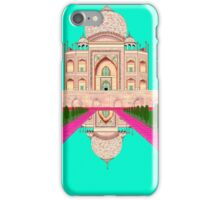 A Still Day in Agra (Aqua) iPhone Case/Skin