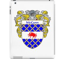 McCann Coat of Arms/Family Crest iPad Case/Skin