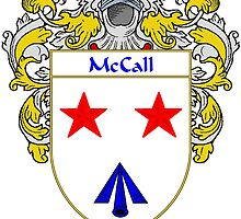McCall Coat of Arms/Family Crest by William Martin