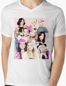 Jennifer Morrison, Kate Walsh, Dianna Agron 2 Mens V-Neck T-Shirt