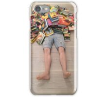 Books all over you iPhone Case/Skin