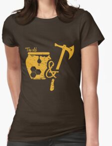 The Old Honey and Hatchet  Womens Fitted T-Shirt