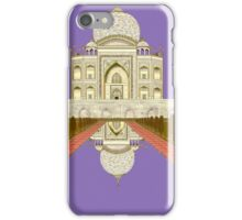 A Still Day in Agra (purple) iPhone Case/Skin
