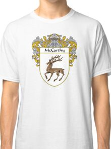 McCarthy Coat of Arms/Family Crest Classic T-Shirt