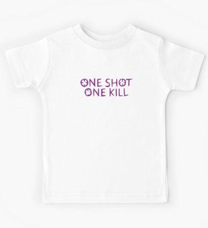 One Shot One Kill Kids Tee