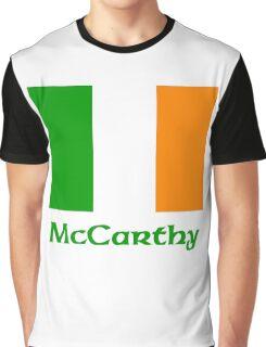 McCarthy Irish Flag Graphic T-Shirt