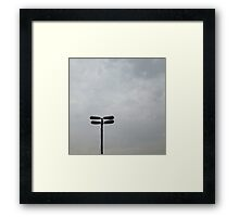 Lamp Framed Print
