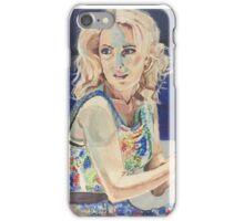 Blanche in Blue iPhone Case/Skin