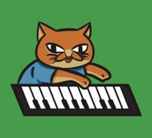 Piano Kitty Baby Tee